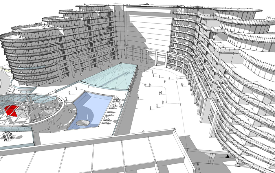 The Shoreline adhering to original SmartCity Master Plan